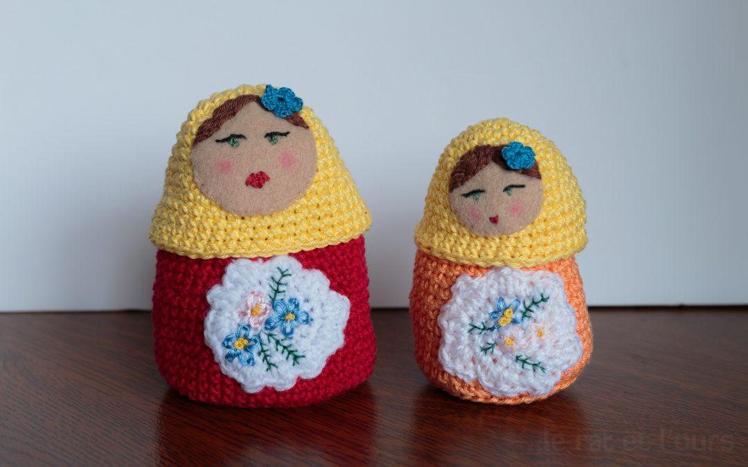 Mes poupées russes au crochet