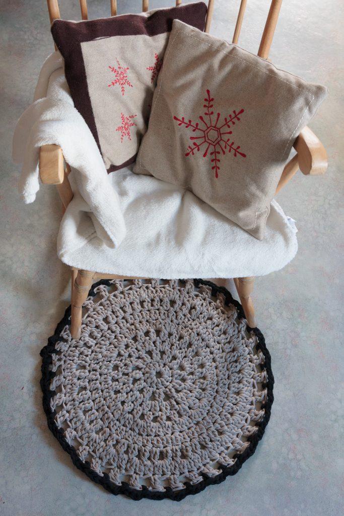 Tapis Crochet Trapilho Crochet Nature1 Le Royaume Immobile