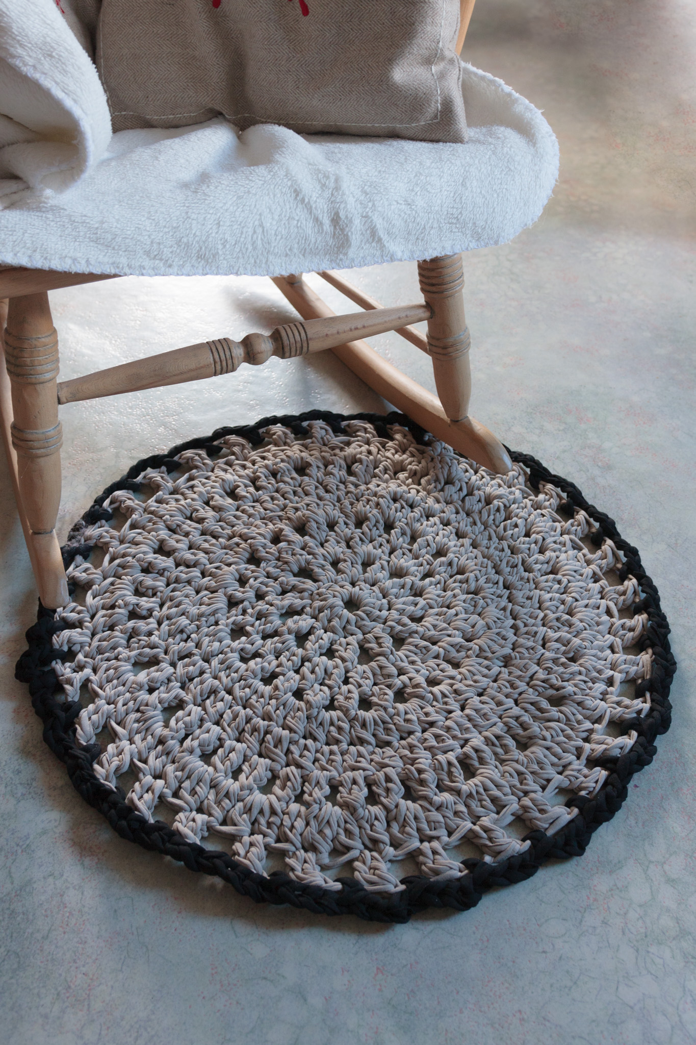 Tapis Crochet Trapilho Crochet Nature2 Le Royaume Immobile