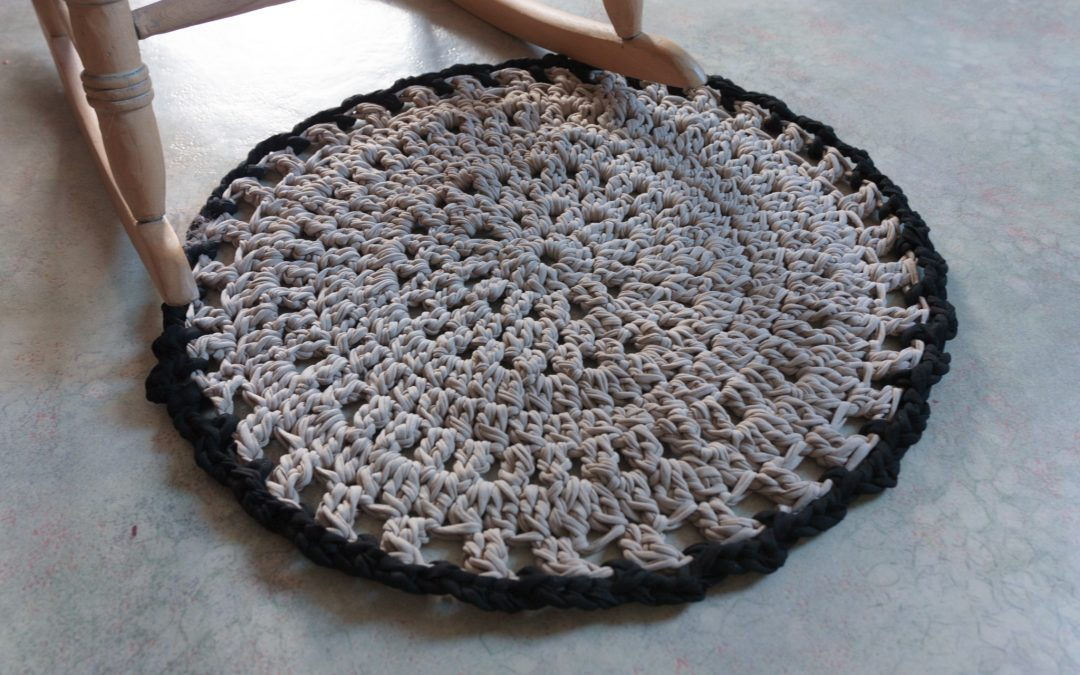Mon tapis rétro en Trapilho