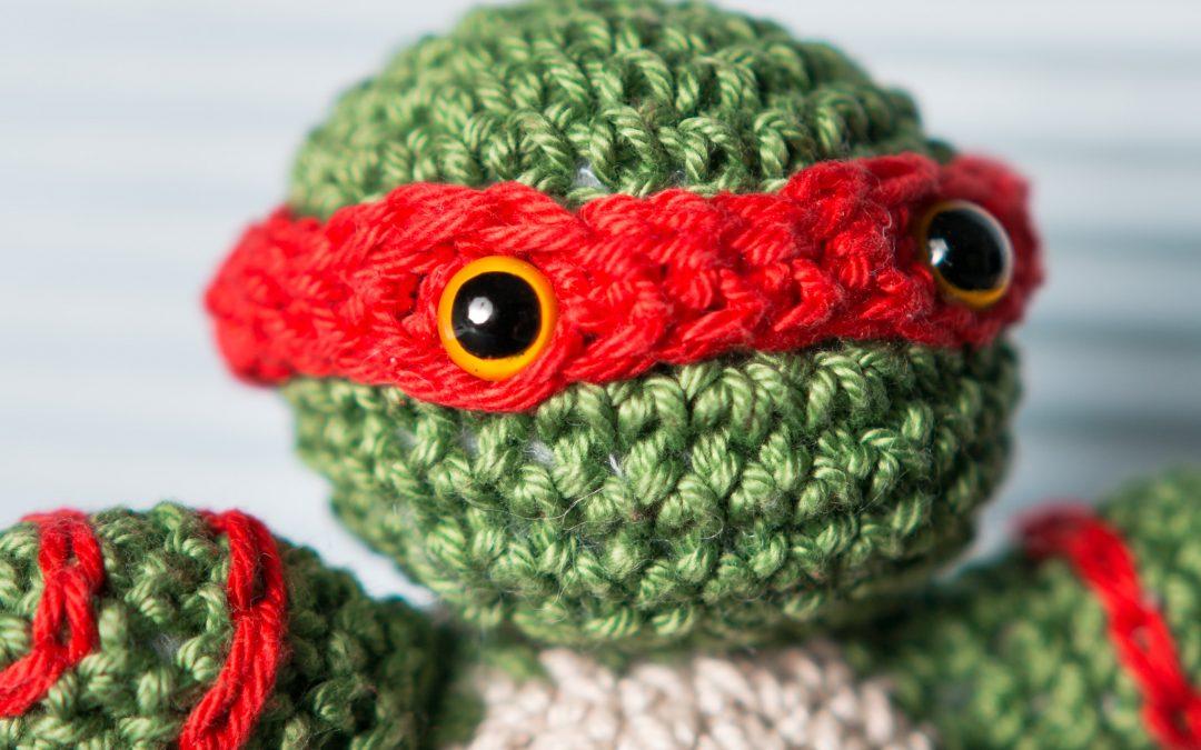 Cowabunga : Une commande personnalisée en crochet !